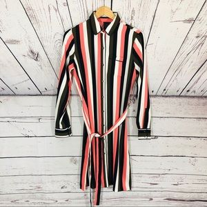 🆕 Ann Taylor Striped Dress